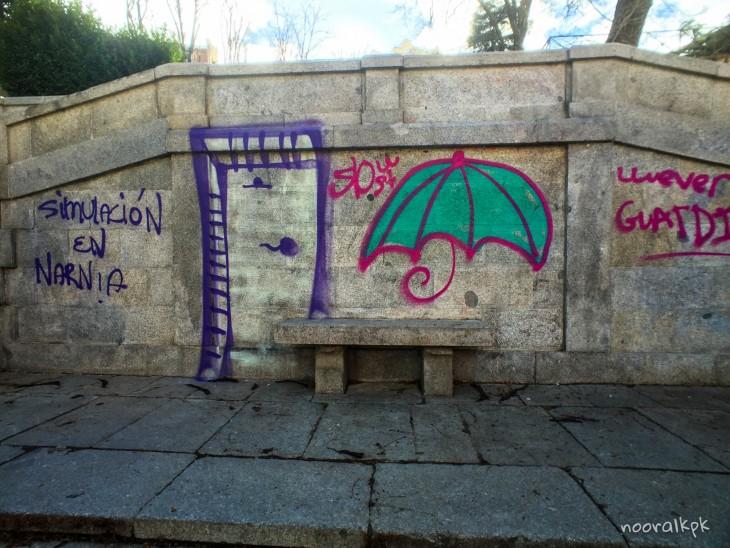 madrid graffiti