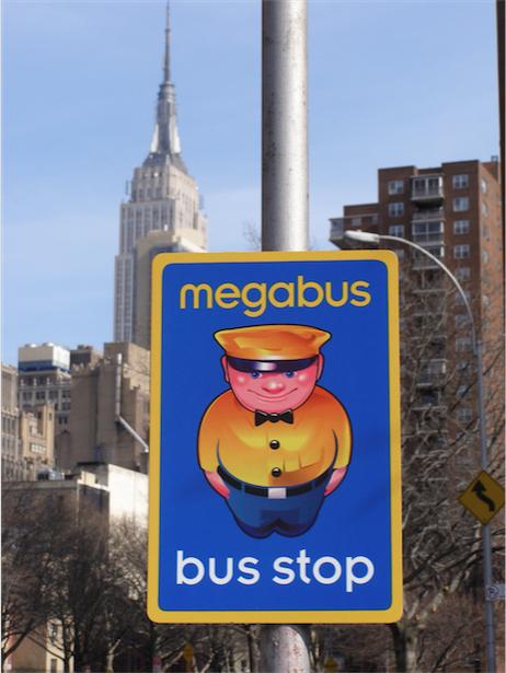 megabus bus stop