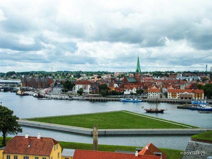 helsingor view kronborg
