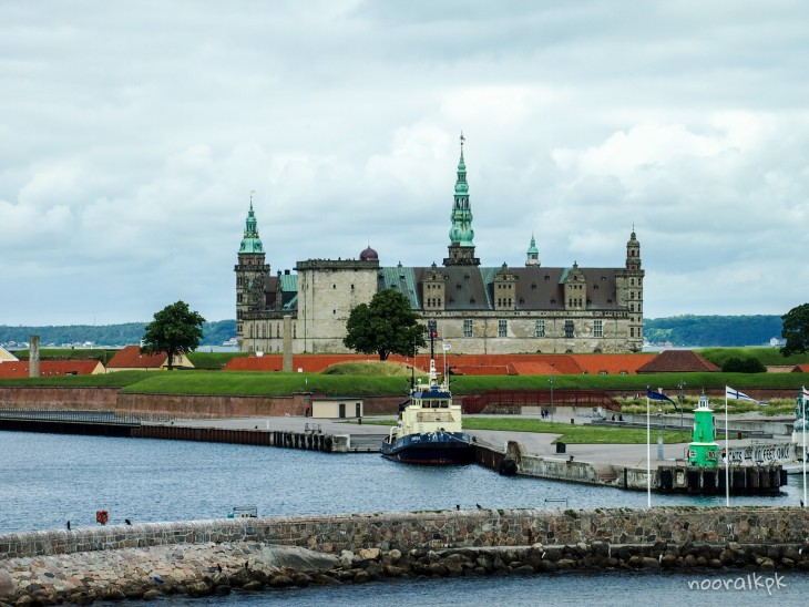 kronborg from ferry