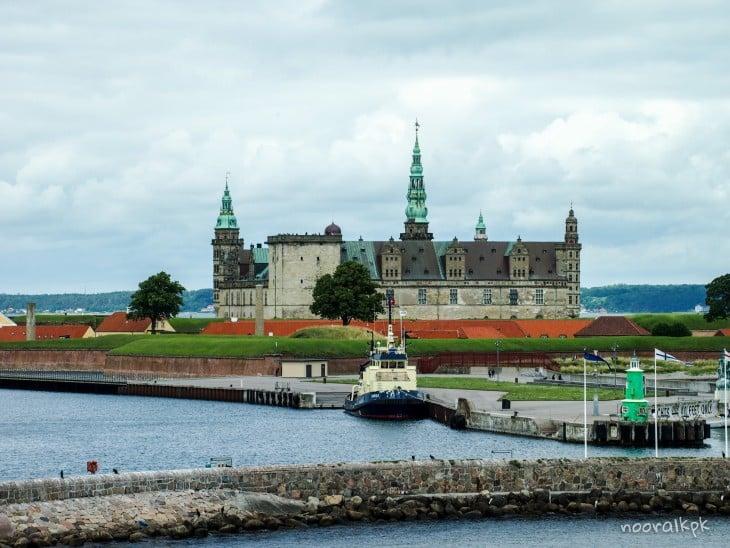 kronborg from ferry