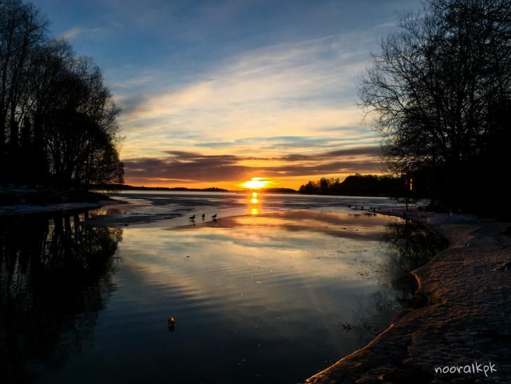 auringonlasku-tampere