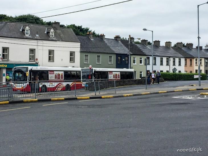 bussimatkustaminen irlanti