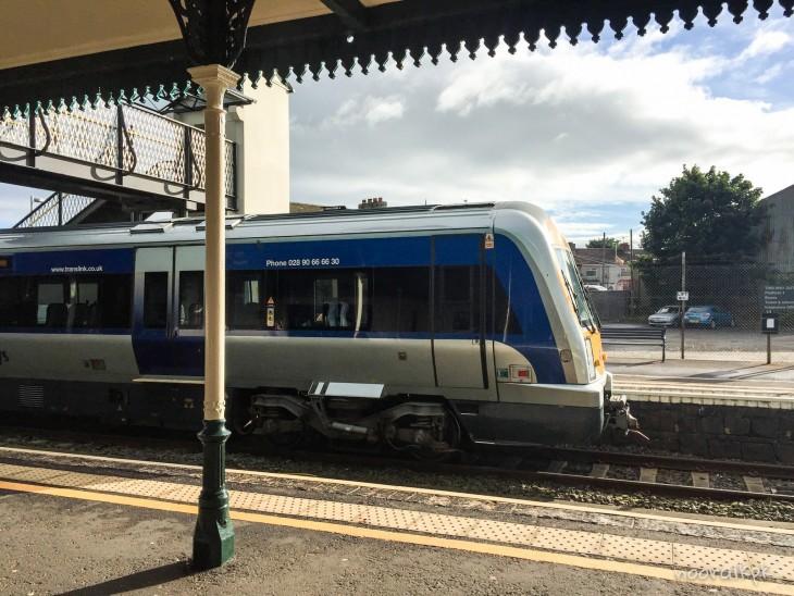 junamatkustus irlanti