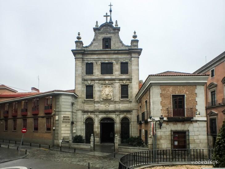 madrid-kirkko