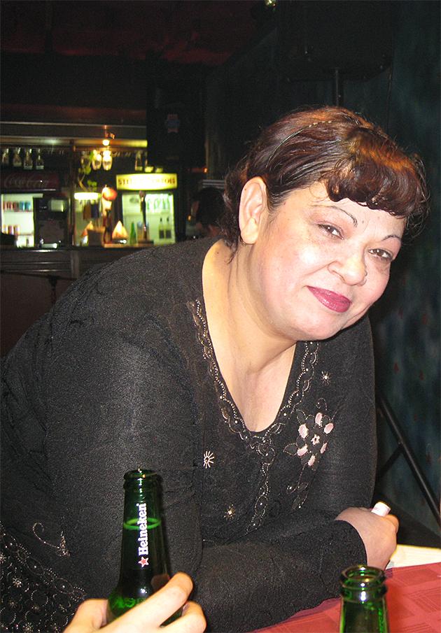 Mustalaisbaarin pitäjä Bukarestissa
