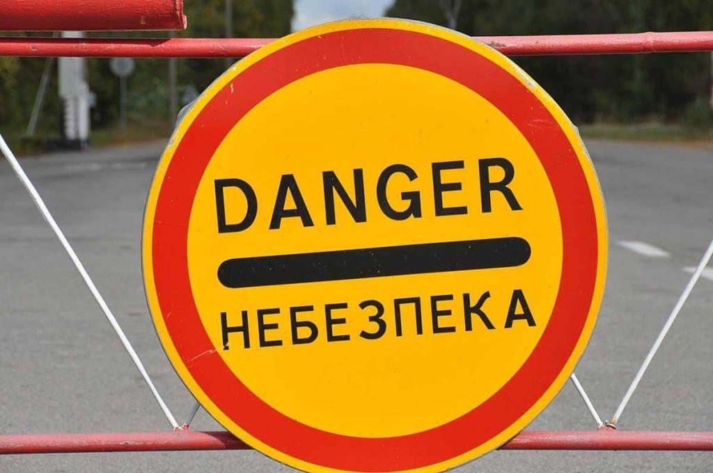 Chernobyl - kielletty alue
