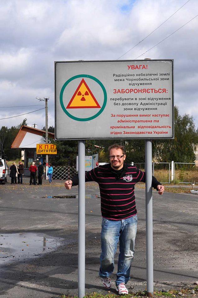 Chernobyl - taatusti säteilevänä takaisin