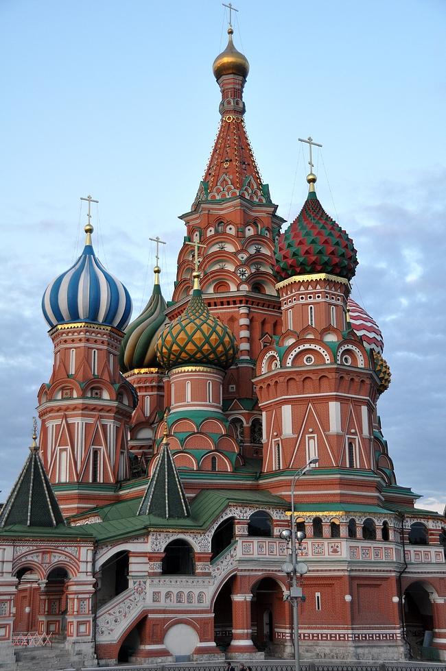 Pyhän Vasilin katedraali valmistui 1561