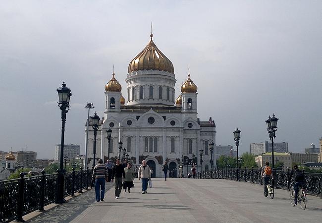 Kristus Vapahtajan katedraali - mestariteos niin ulkoa kuin sisältäkin