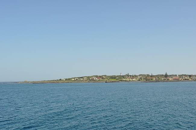 Robben Island - korkein kohta 30 metriä merenpinnan yläpuolella