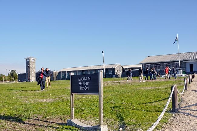 Vierailun pääkohde - itse Robben Islandin vankila