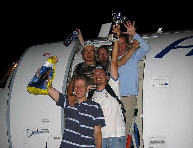 Amsterdamista 2006 oli kotiinpaluukin tavallista hauskempaa.