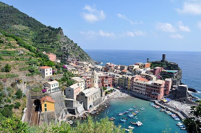 Vernezza - Cinque Terren viisi kylää tarjoaa uskomattoman upeat maisemat patikoinnille.