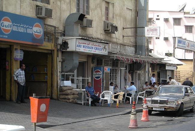 Autokorjaamon vieressä toiminut Abu Hussain Grills tarjosi Bahrainin parhaat aamiaiset