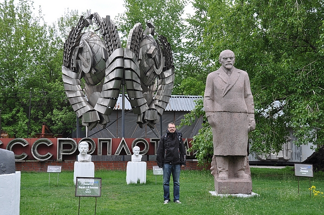 Jopa Venäjälläkin monet Leninin patsaat on poistettu käytössä, mutta ne on saaneet uuden elämän Moskovan veistospuistossa.