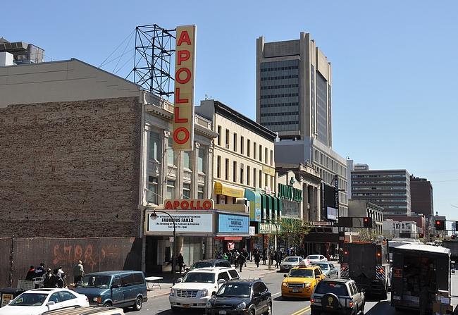 Apolloteatteri on Harlemin tunnusmerkki.