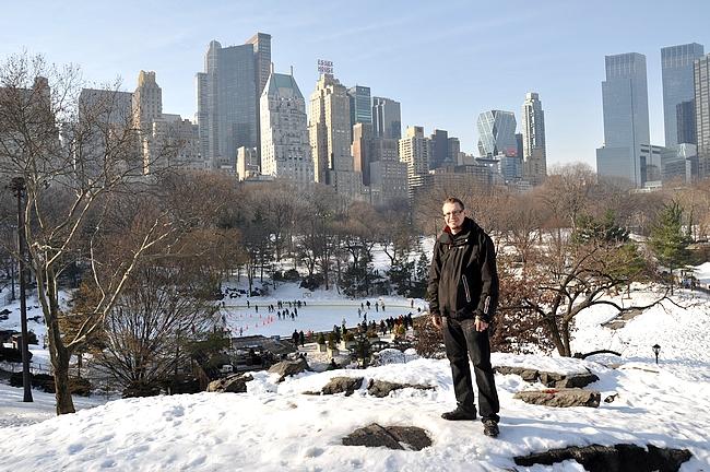 Talvi tuo oman juttunsa New Yorkin arkeen.