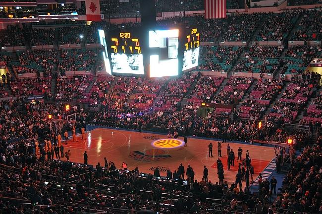 Madison Square Garden - maailman kuuluisin urheiluareena ennen remonttia.