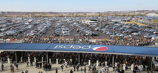 NFL stadioneille kannattaa mennä vähintään pari tuntia ennen ottelua.