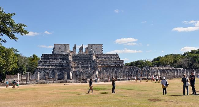 Templo de los Guerreros eli Taistelijoiden temppeli