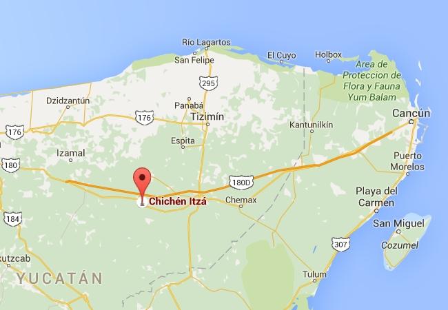 Napsauta kuvaa avataksesi kartan Google Mapsiin. Zoomaamalla lähelle, näet eri temppeleiden sijainnit kartalla.