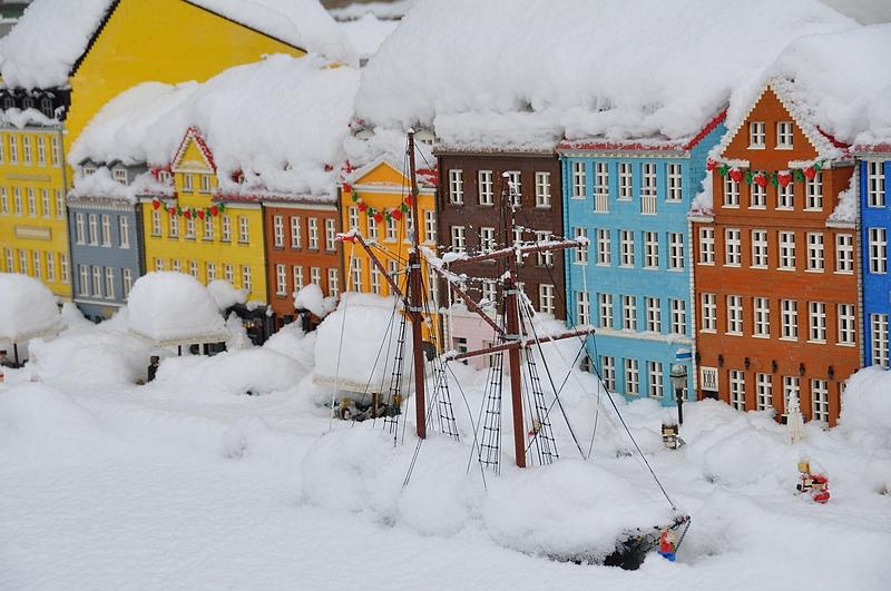 Nyhavn on kaunis talvellakin.