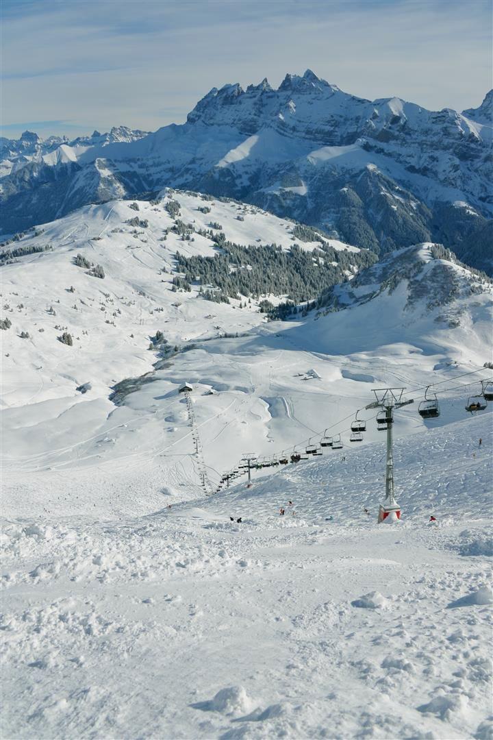 Le Mur Suisse - kilometri puhdasta adrenaliinia.