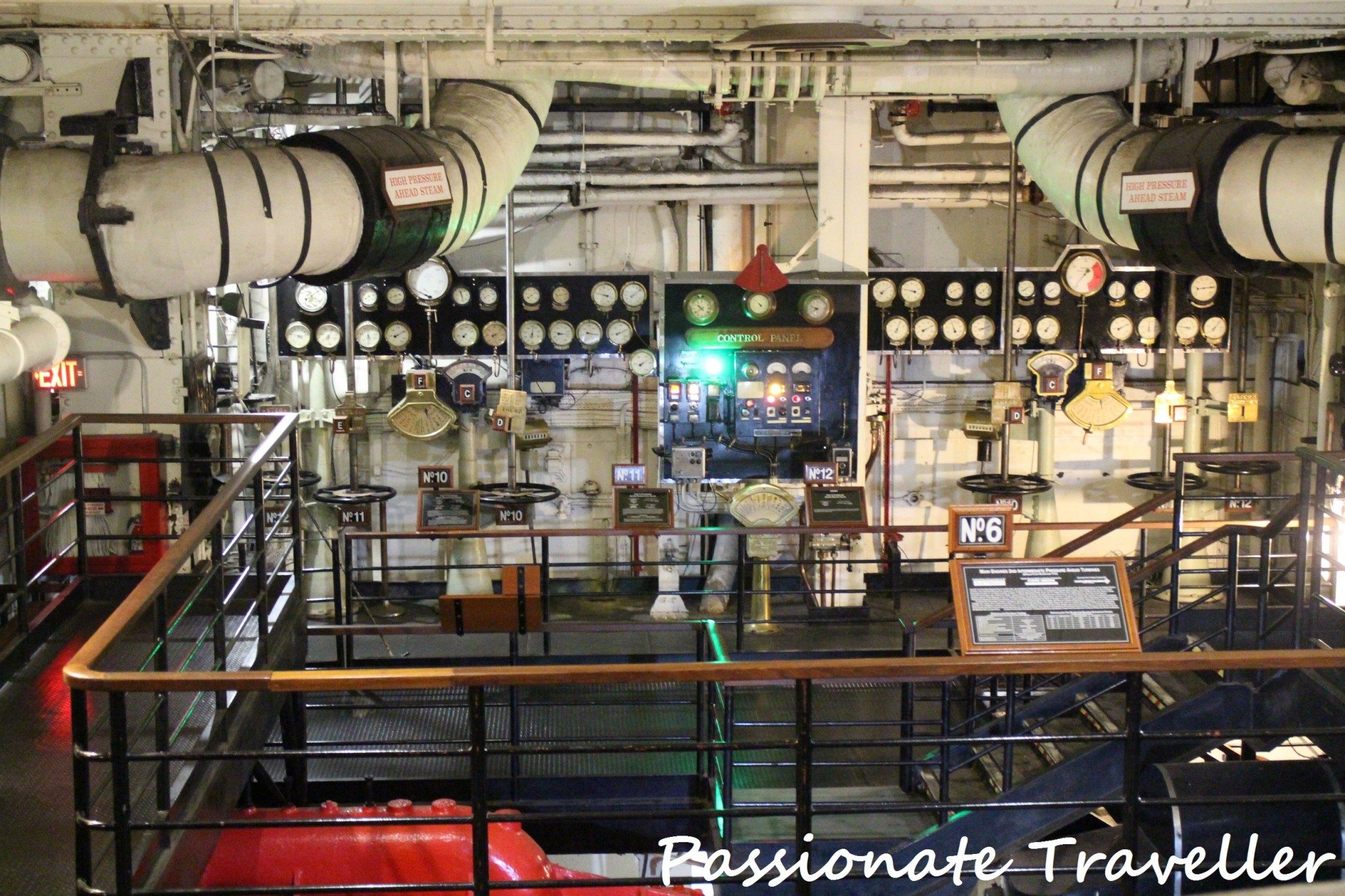 Queen Mary Engine Room 1