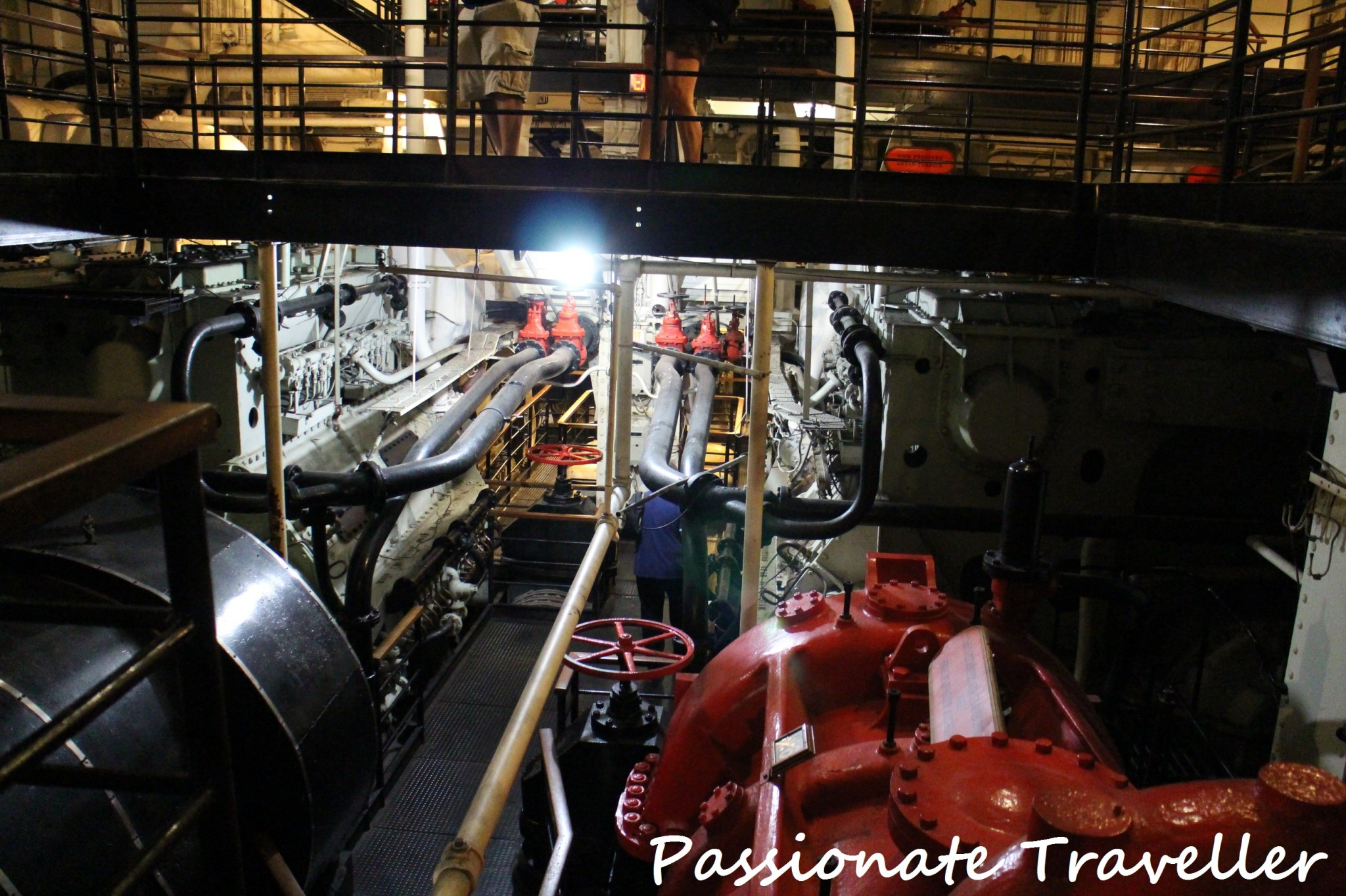 Queen Mary Engine Room 2