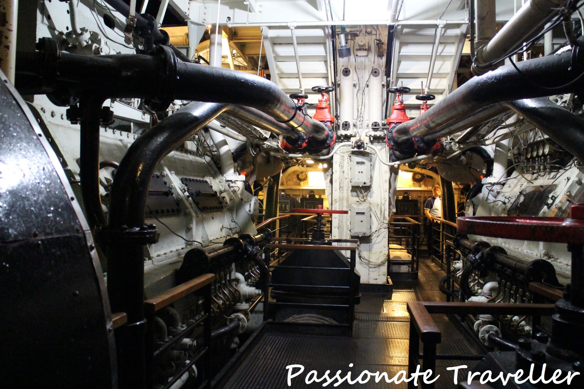 Queen Mary Engine Room 3