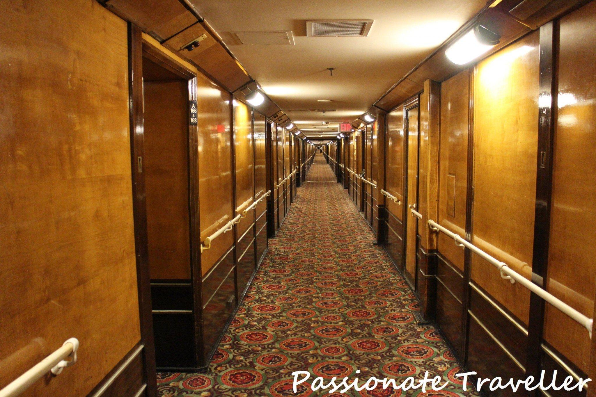Queen Mary Interior Cabin Corridor