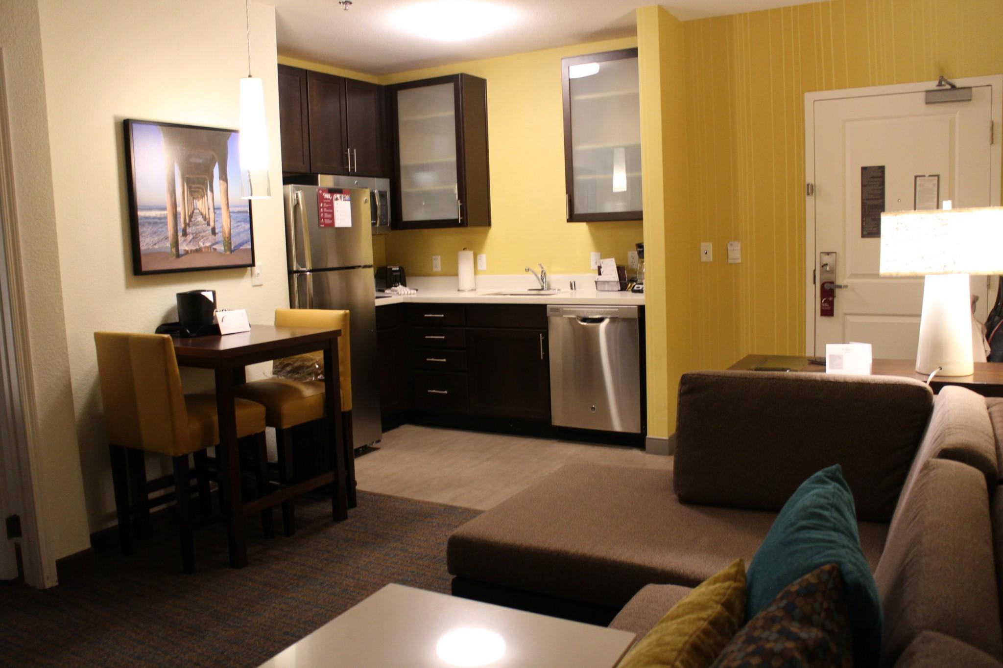 Residence Inn Redondo Beach kitchen