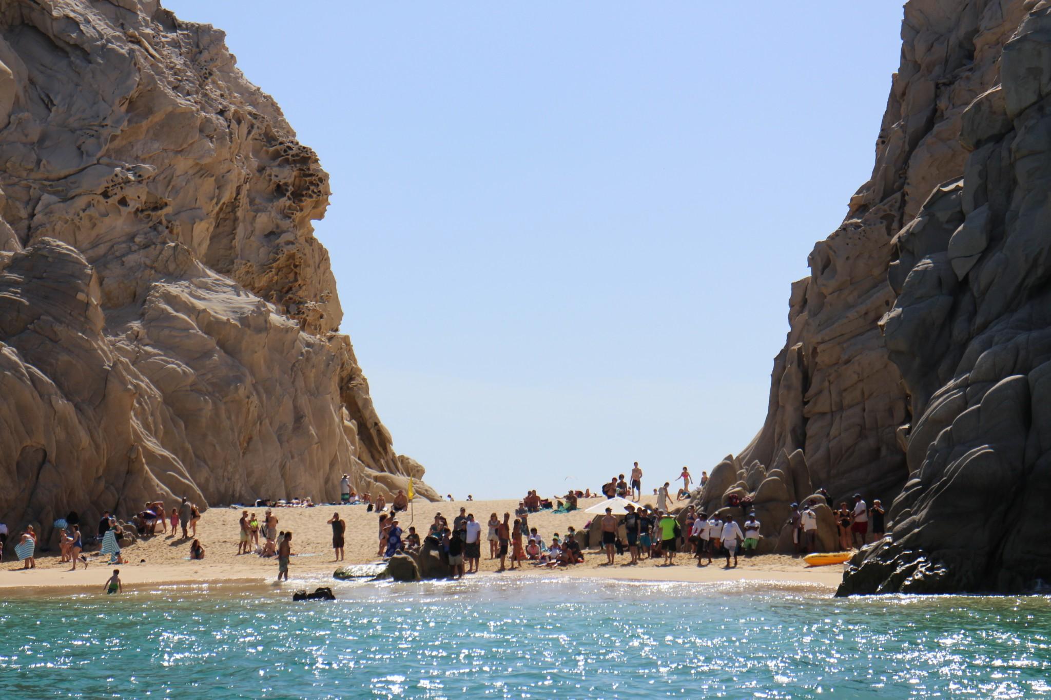 Cabo San Lucas Lovers Beach