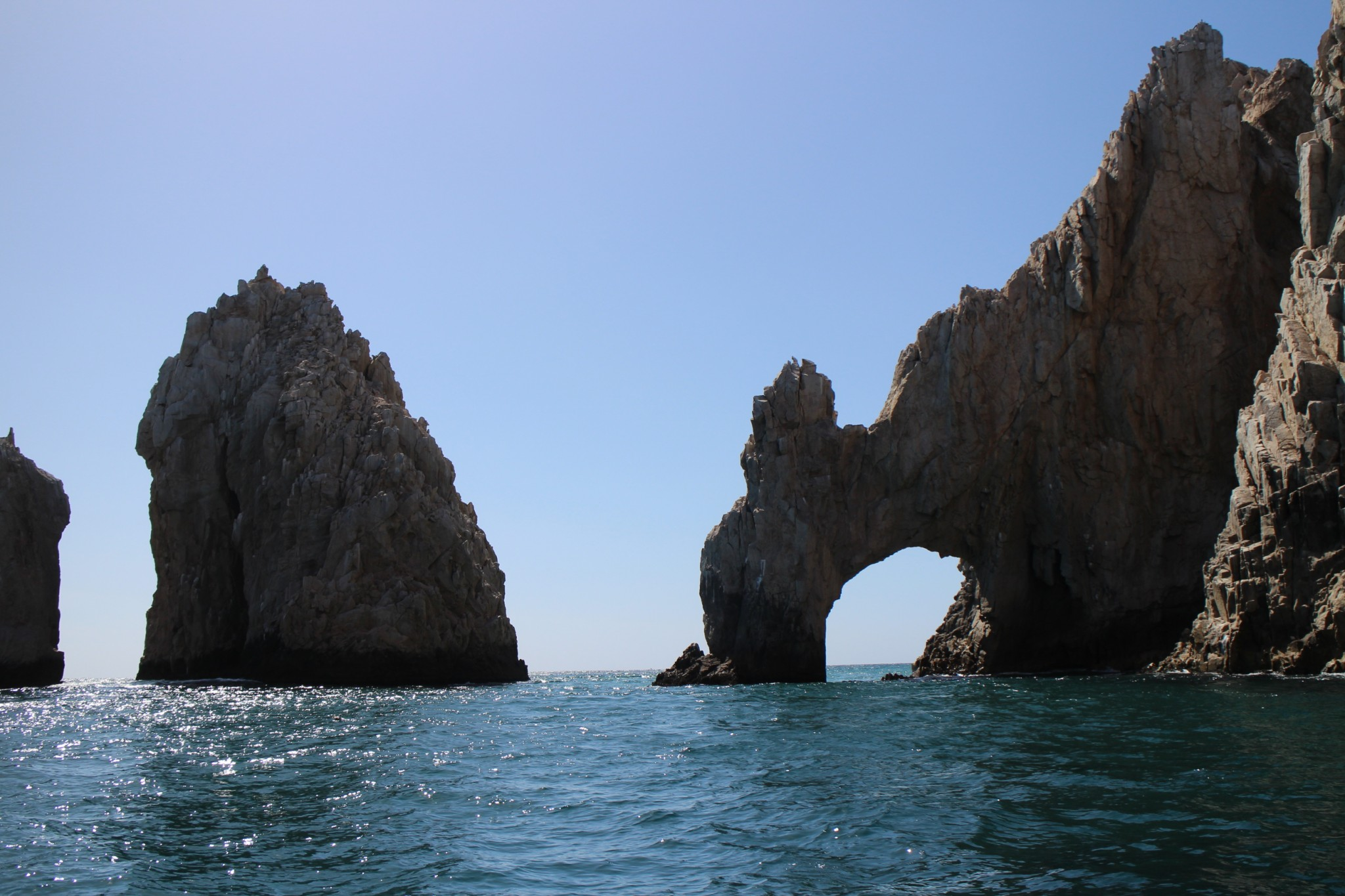 Cabo San Lucas Ultima piedra Peninsula Baja California