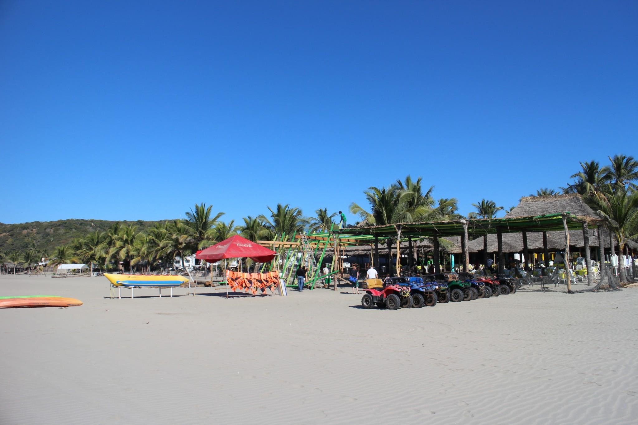 Isla De La Piedra Beach