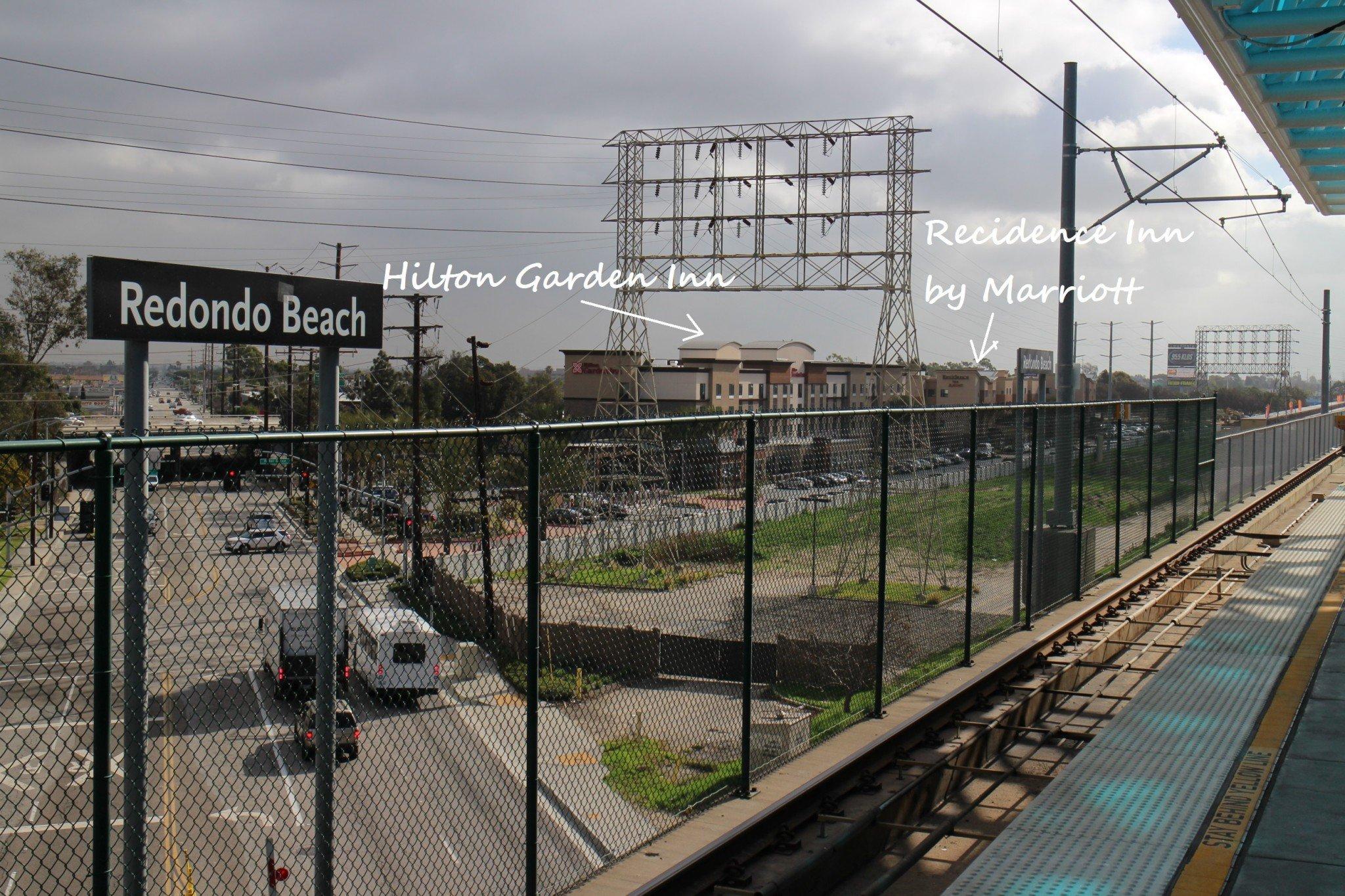 Recidence Inn Redondo Beach location