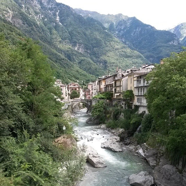 Chiavenna Italia