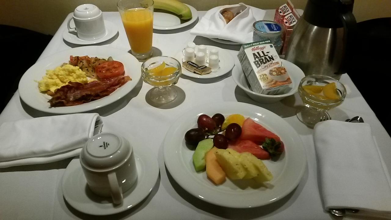 Norwegian Cruise Line suite breakfast