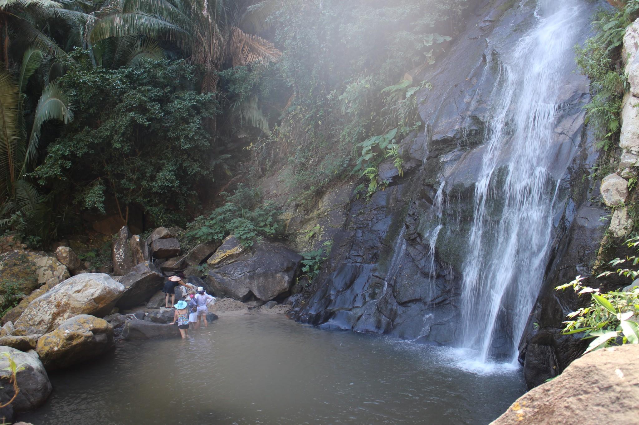 Yelapa waterfall swimming