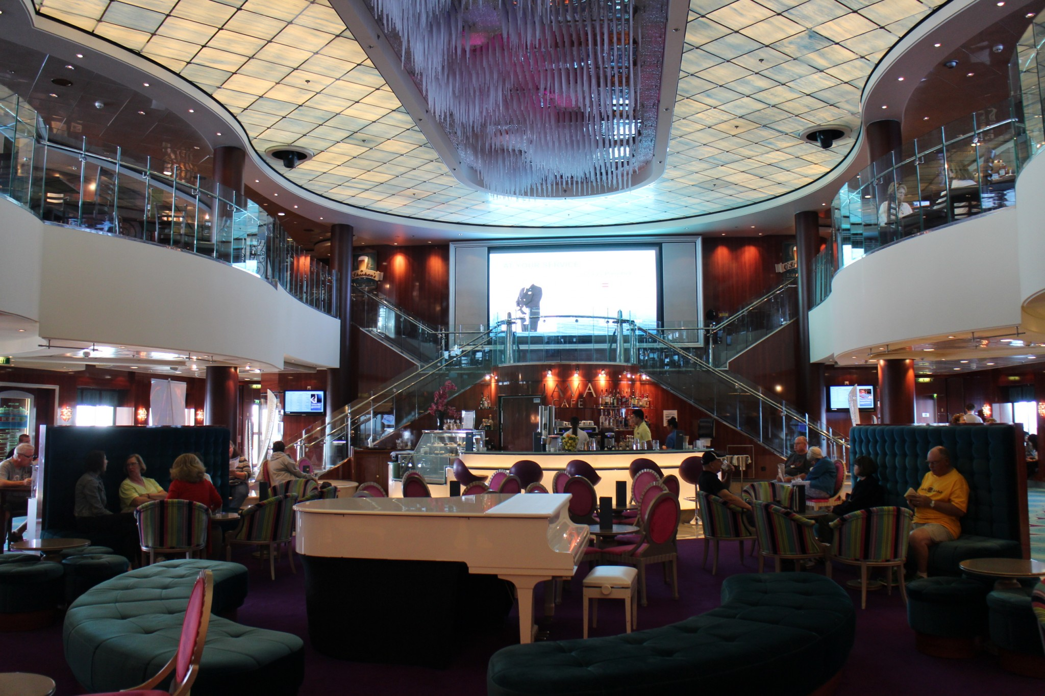 Norwegian Jewel Atrium 2