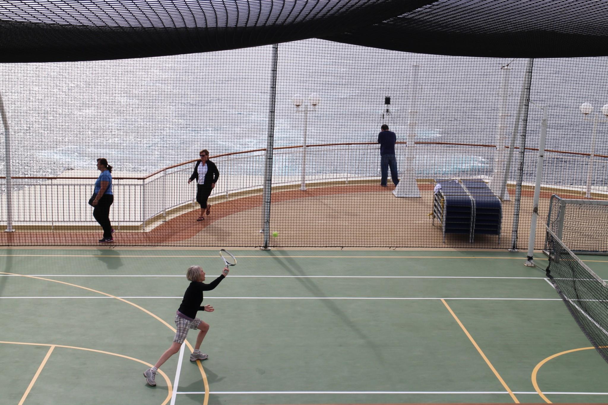 Norwegian Jewel Tennis Court