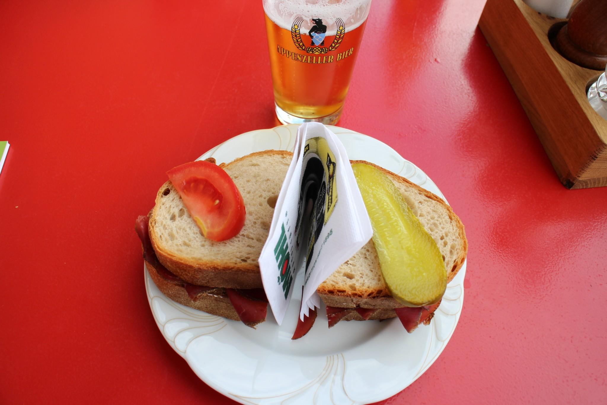 Berggasthaus Aescher-Wildkirchli menu