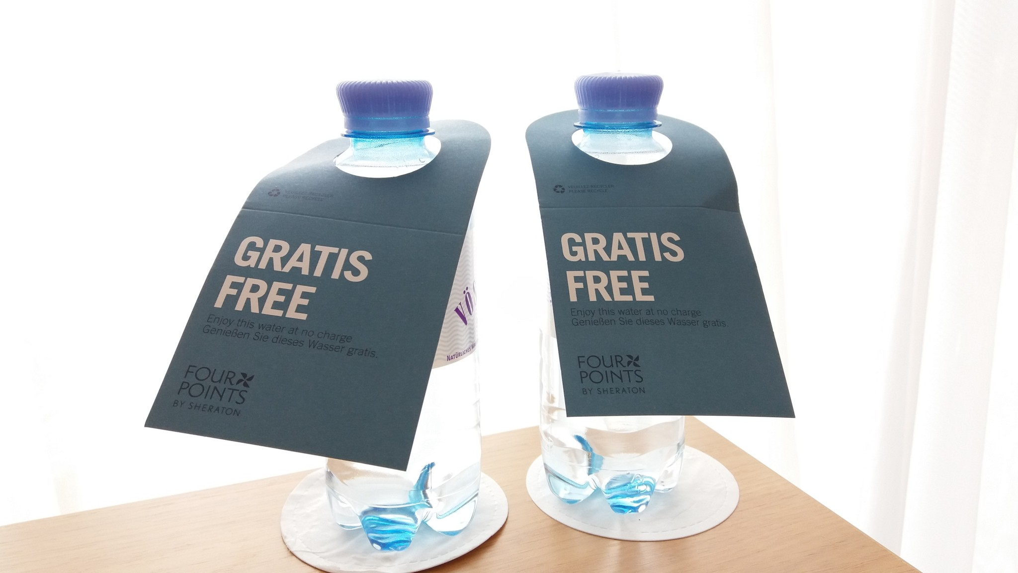 Four Points by Sheraton Panoramahaus Dornbirn Free Water