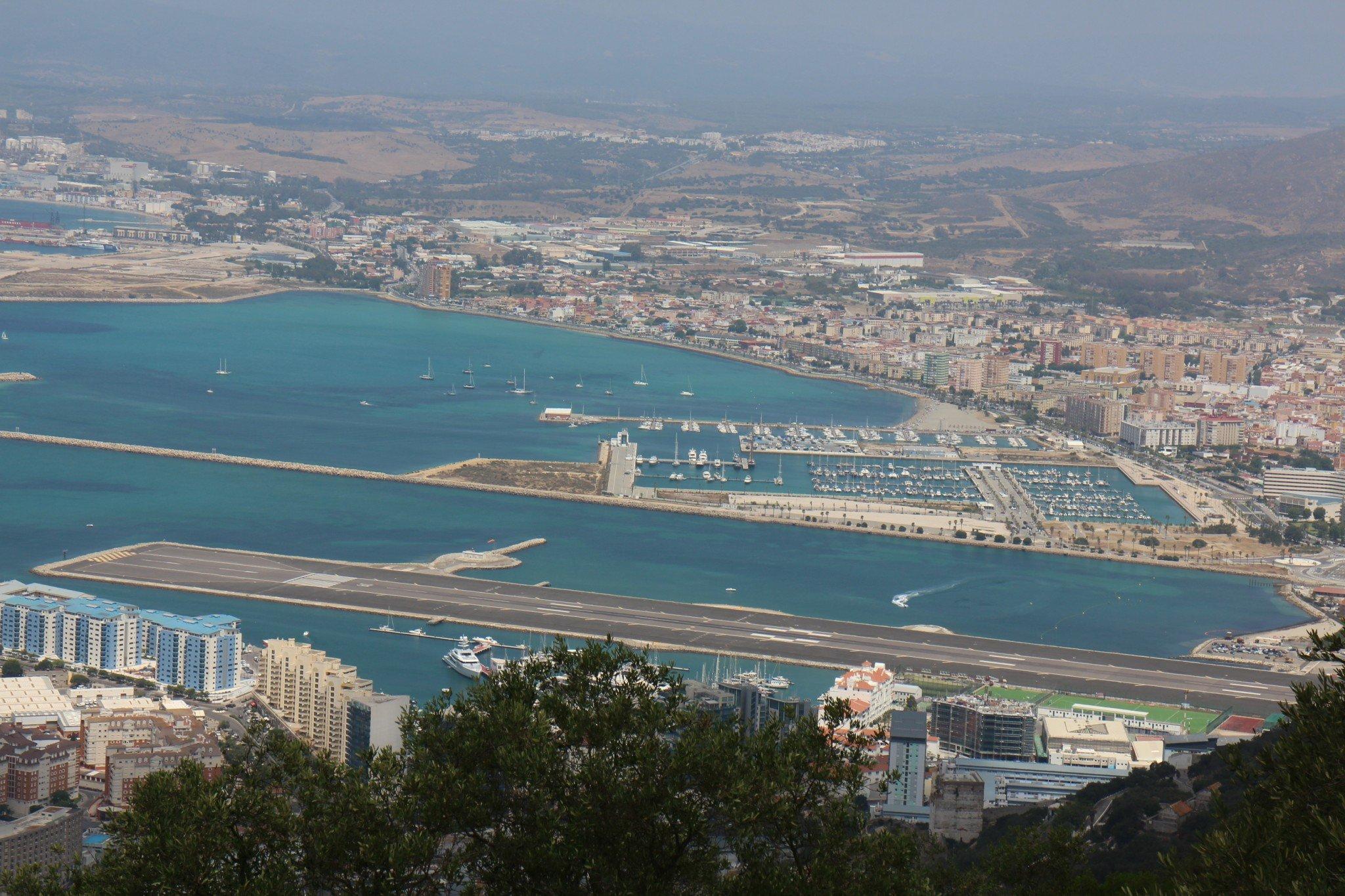 Gibraltar lentokenttä