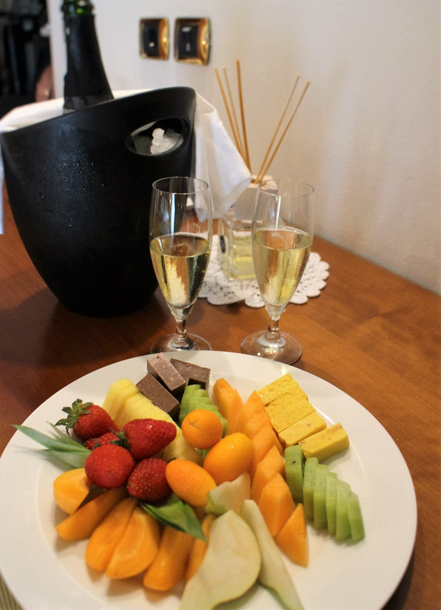 Villa Nicolli Fruits and bubbles