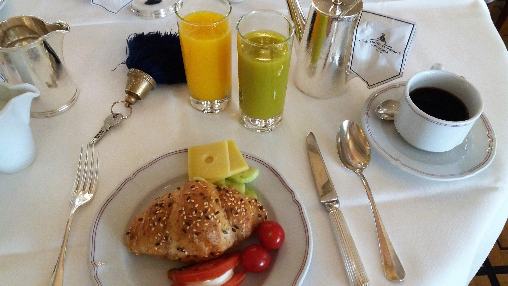 Grand Hotel Kronenhof Breakfast