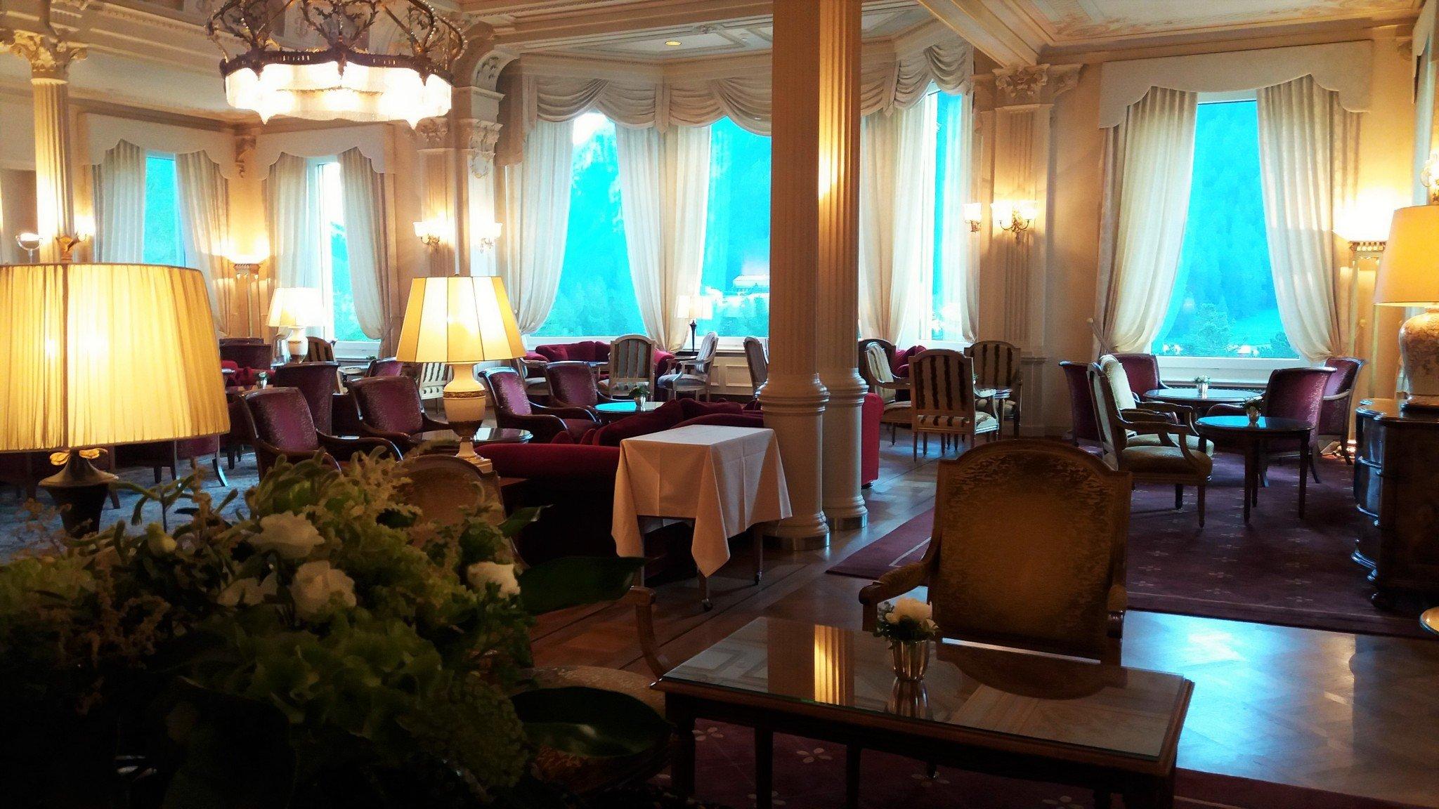 Grand Hotel Kronenhof Lobby 2