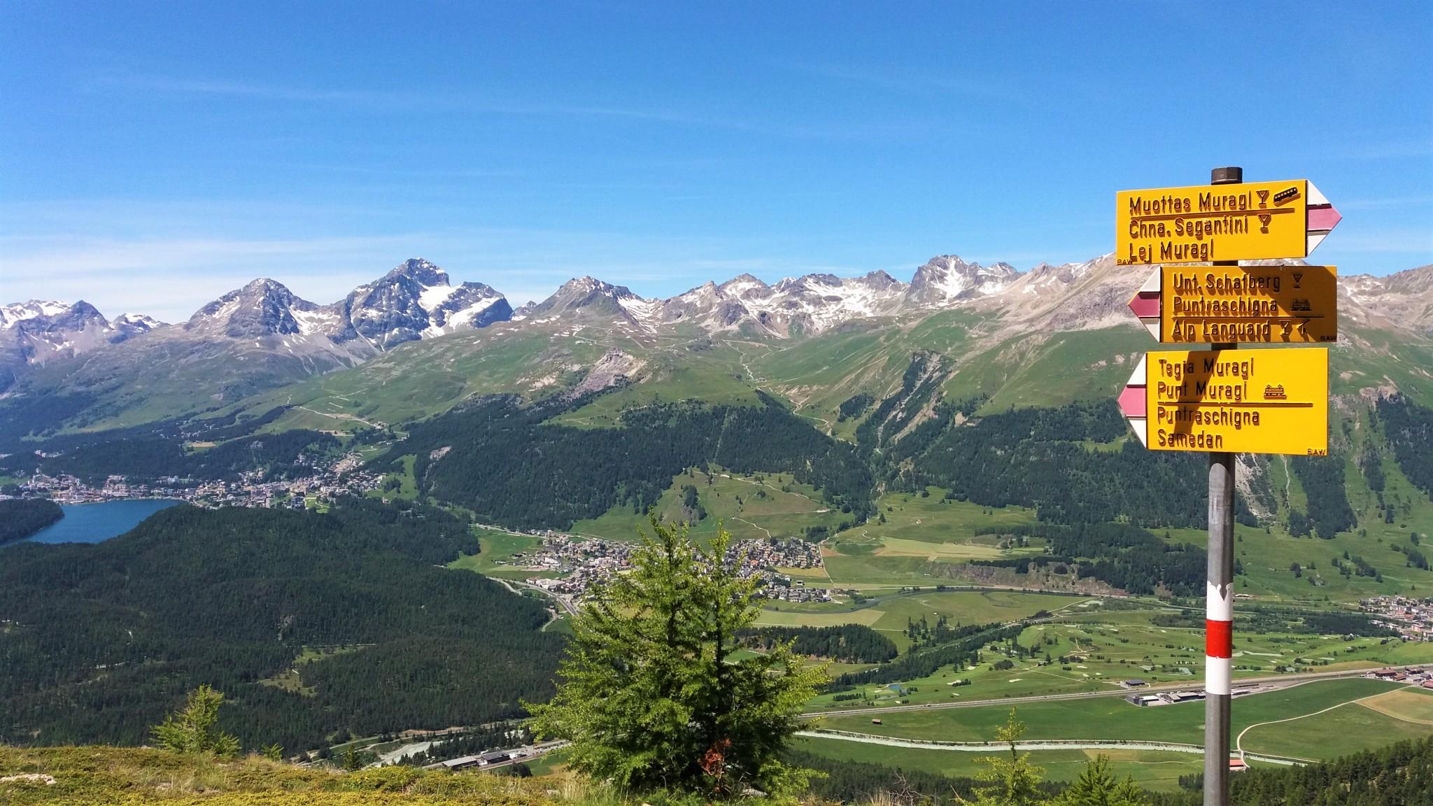 Muottas Muragl Panoramic Route