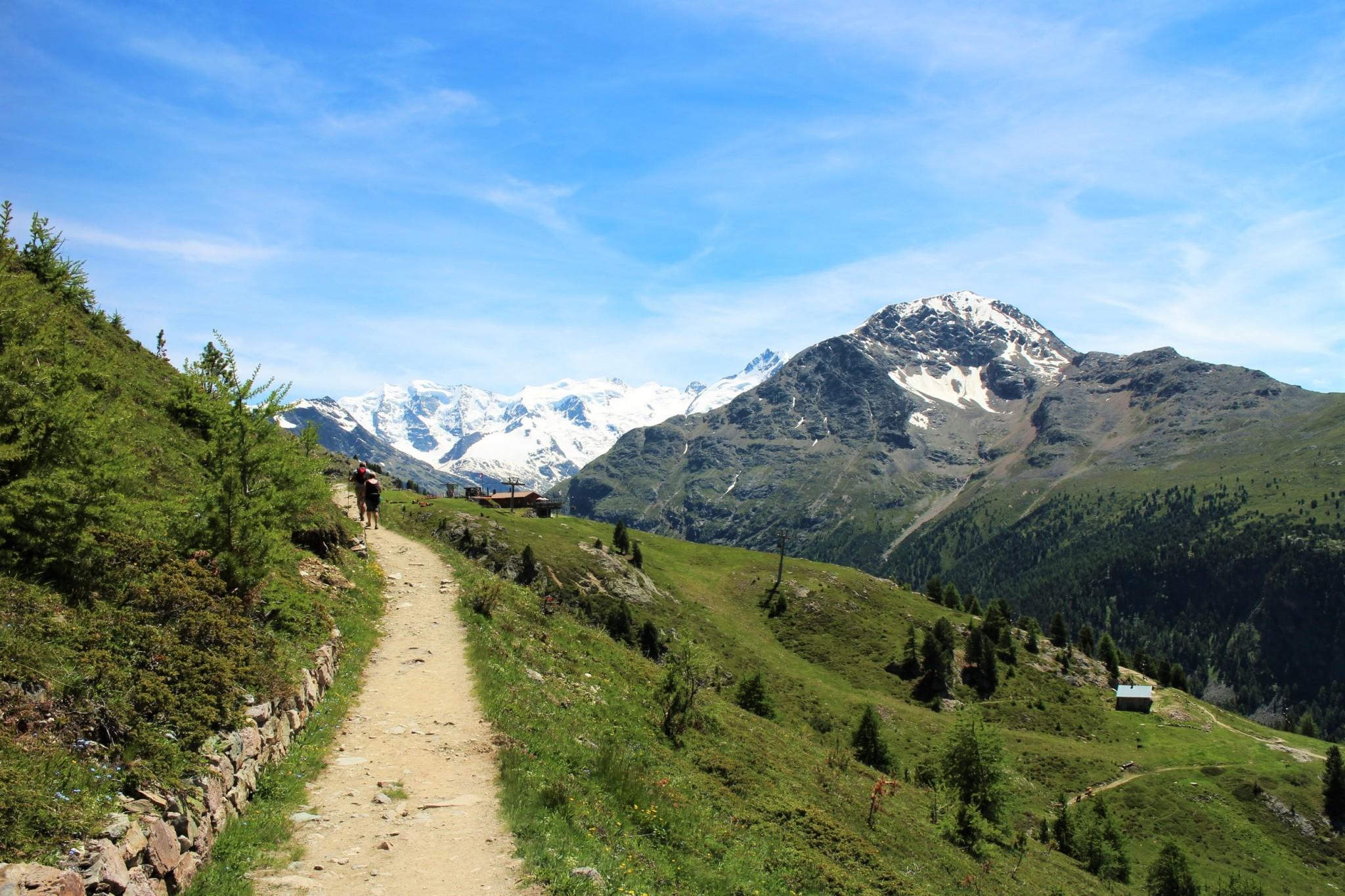 Muottas Muragl hike